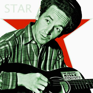 Woody Guthrie, Folk Star (Lg) by MTKlima