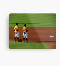 An Evening At The Game ~ Part Four Metal Print