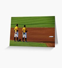 An Evening At The Game ~ Part Four Greeting Card