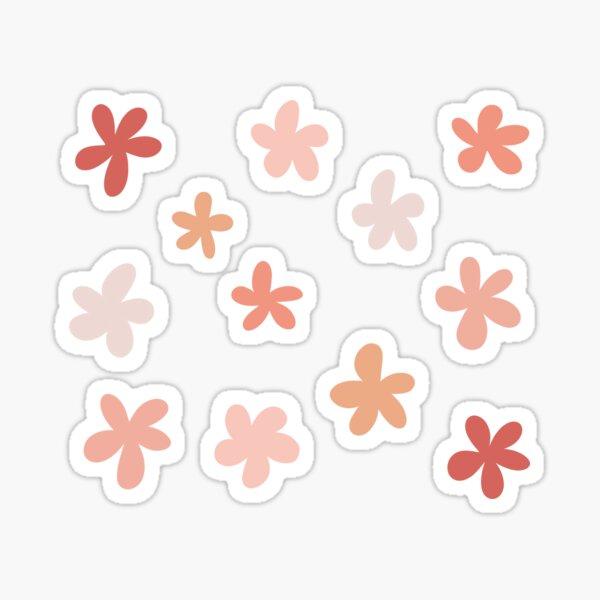 Coral Flower pack Sticker