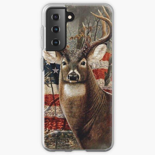 Hunting Deer Buck Graphics Art Samsung Galaxy Soft Case