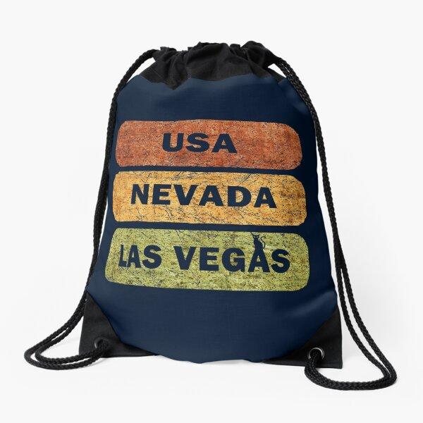 Las Vegas, Nevada, USA Drawstring Bag