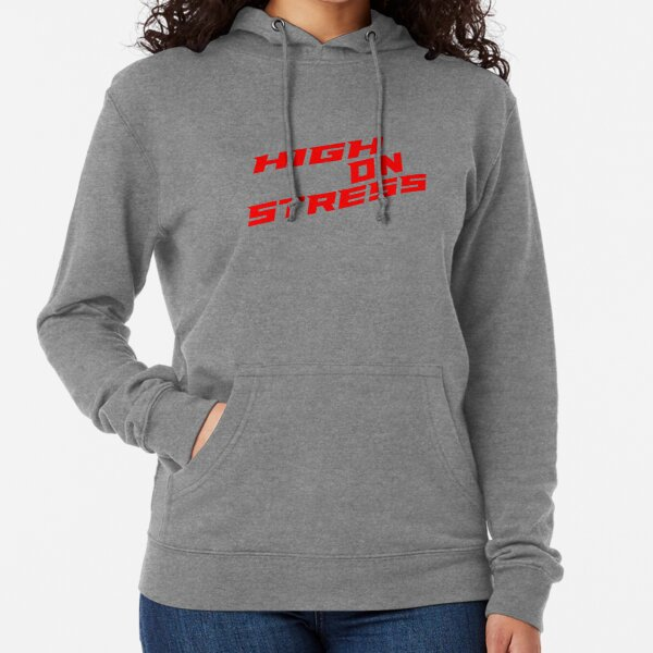 Wxf Womens On Wednesday We Wear Pink Casual Style Hiking Black Hoodies
