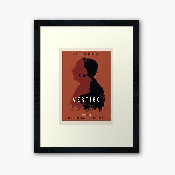 Alfred Hitchcock Vertigo Framed Art Print