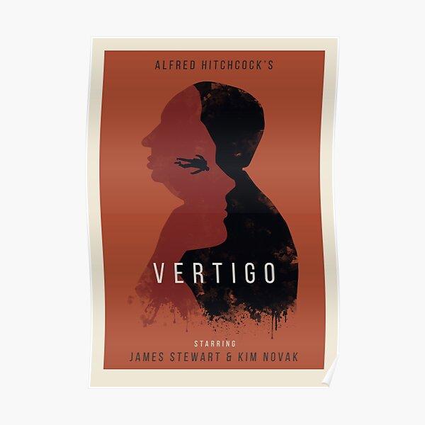 Alfred Hitchcock Vertigo Poster