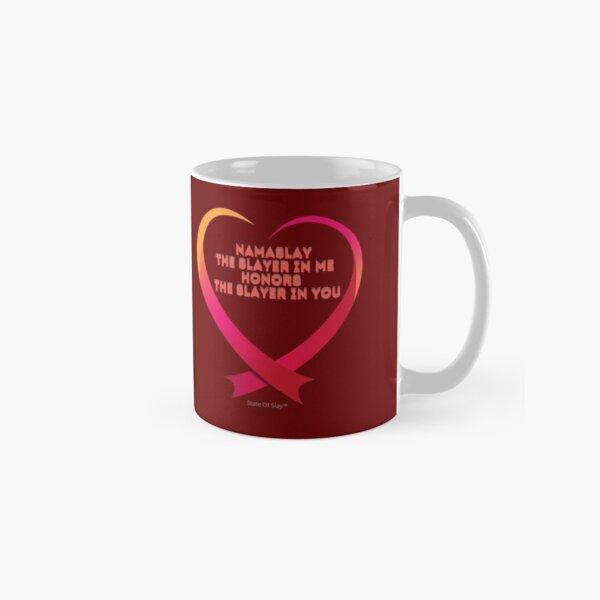 State Of Slay - Namaslay Heart Burgundy Classic Mug