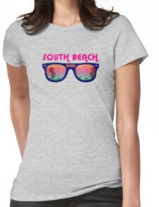 South Beach Miami Womens Fitted T-Shirt