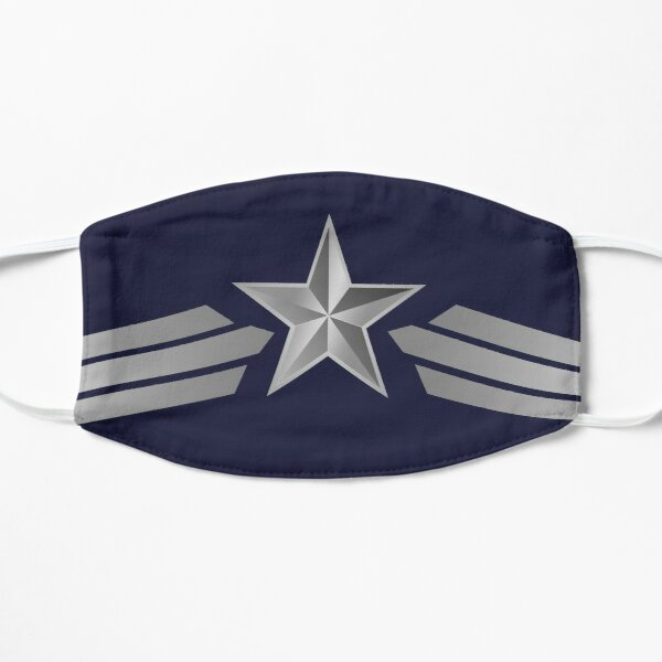 The First Avenger Flat Mask