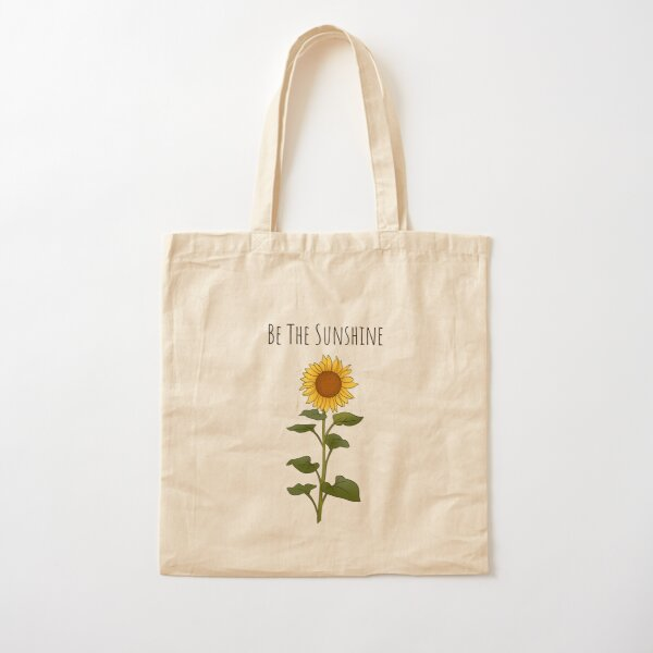 Be The Sunshine - Small Cotton Tote Bag