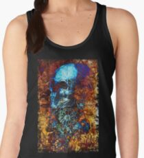 Skull and Flowers Women's Tank Top