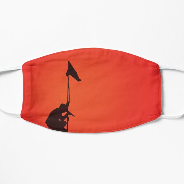 U2 - Under A Blood Red Sky Minimal Cover Art Mask