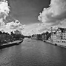 What York looks like with out the floods by clickinhistory