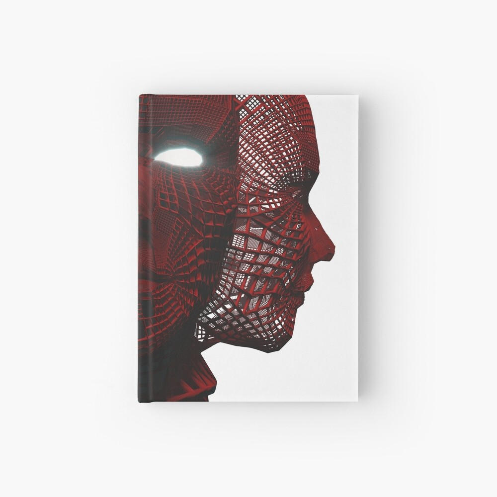 3_Red_Face Hardcover Journal