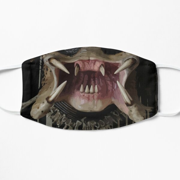 Predator Mouth Flat Mask