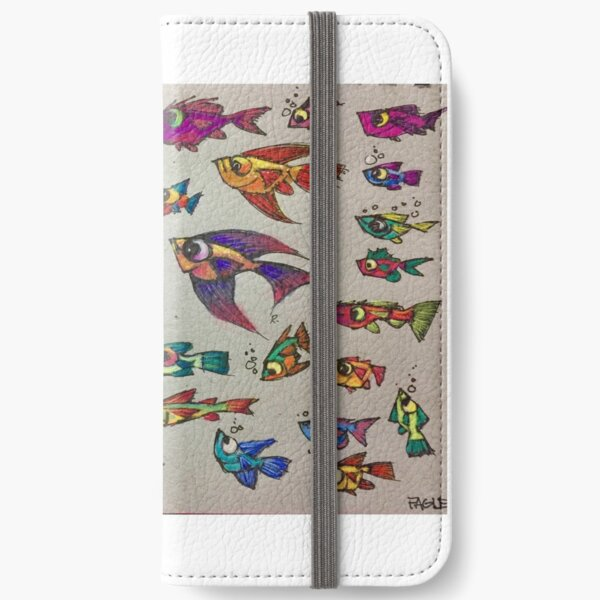 Fish by Russ Fagle iPhone Wallet