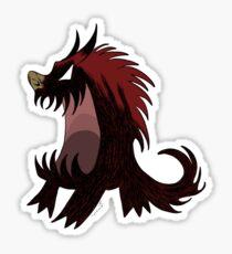 Red hound, Don't starve Sticker