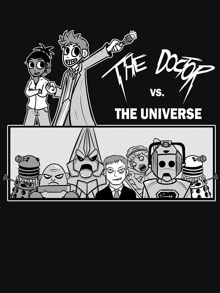 The Doctor VS the Universe | Unisex T-Shirt