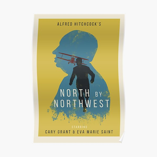 Alfred Hitchcock North by Northwest Poster