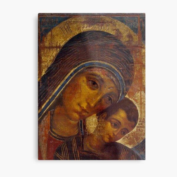 Virgin Mary Neocatechumenal Way Metal Print