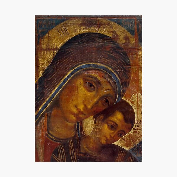 Virgin Mary Neocatechumenal Way Photographic Print