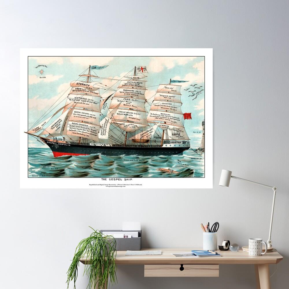 The Gospel Ship Poster