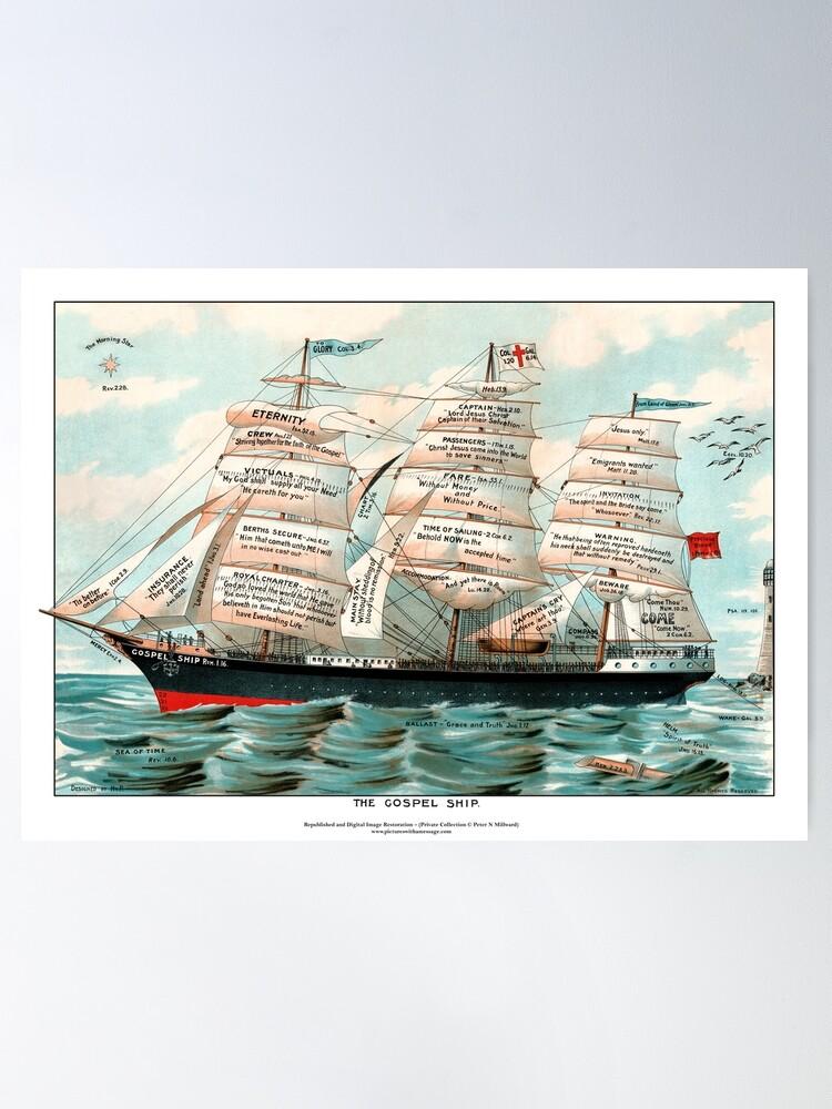 Alternate view of The Gospel Ship Poster