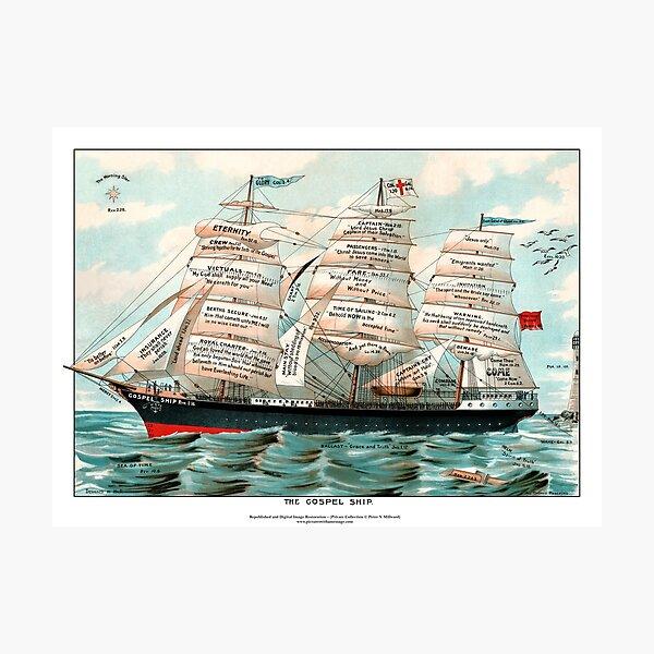 The Gospel Ship Photographic Print