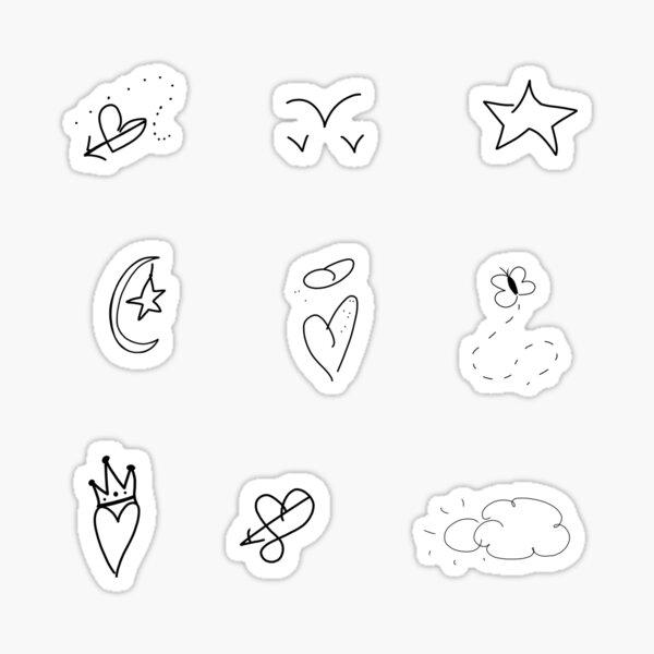 Taylor Swift Doodle Sticker Pack Sticker