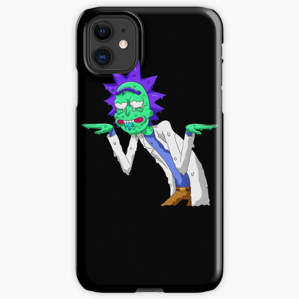 Copy of rick and morty get schwifty iPhone Case & Cover