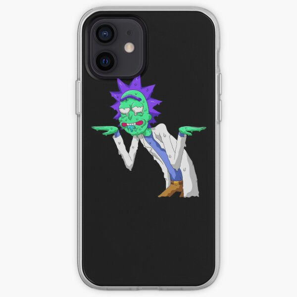 Copy of rick and morty get schwifty iPhone Soft Case