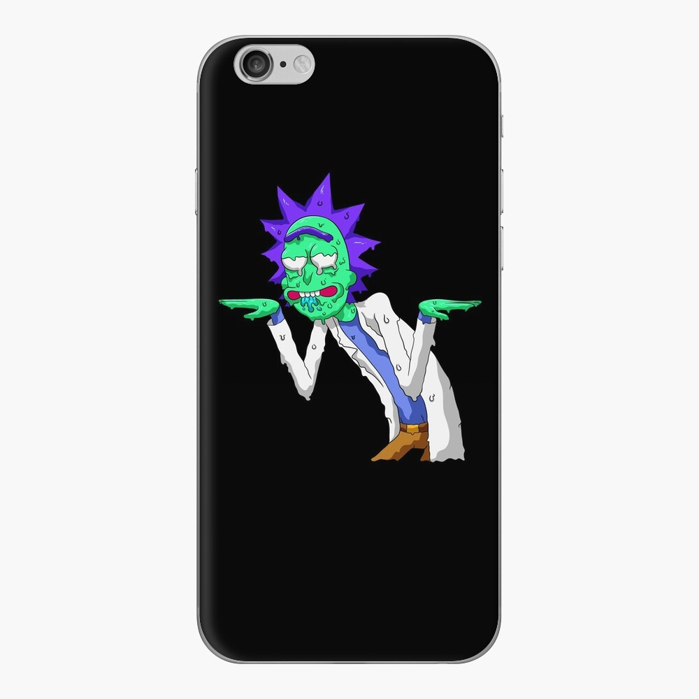 Copy of rick and morty get schwifty iPhone Skin