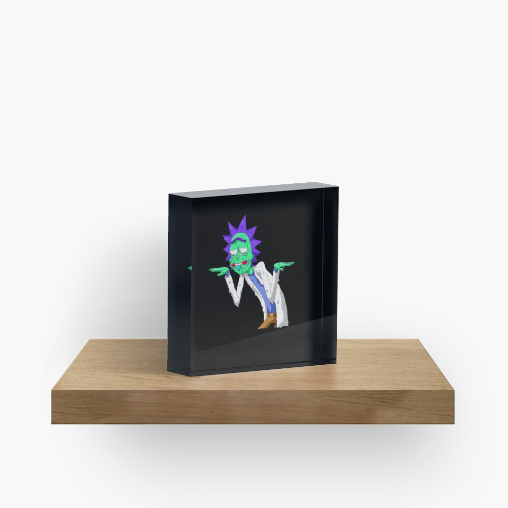 Copy of rick and morty get schwifty Acrylic Block