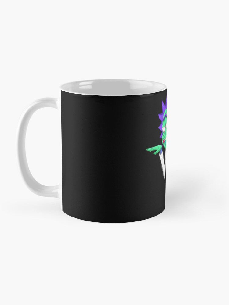 Alternate view of Copy of rick and morty get schwifty Mug