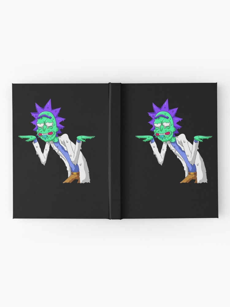 Alternate view of Copy of rick and morty get schwifty Hardcover Journal