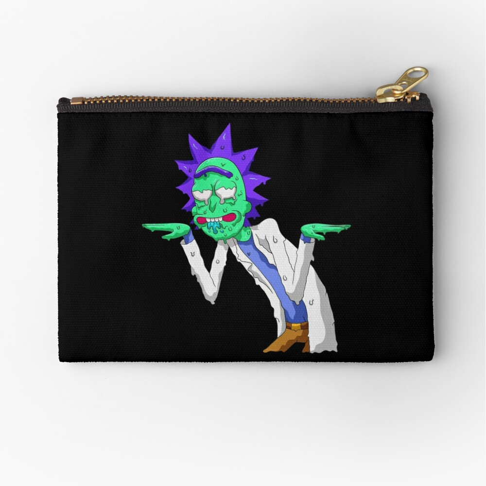 Copy of rick and morty get schwifty Zipper Pouch