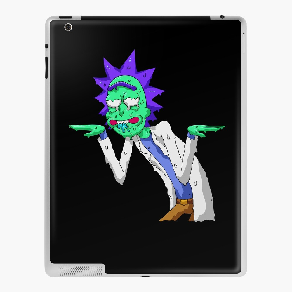 Copy of rick and morty get schwifty iPad Case & Skin