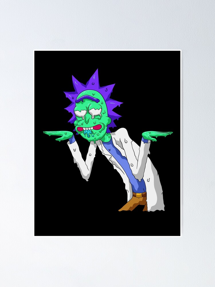 Alternate view of Copy of rick and morty get schwifty Poster