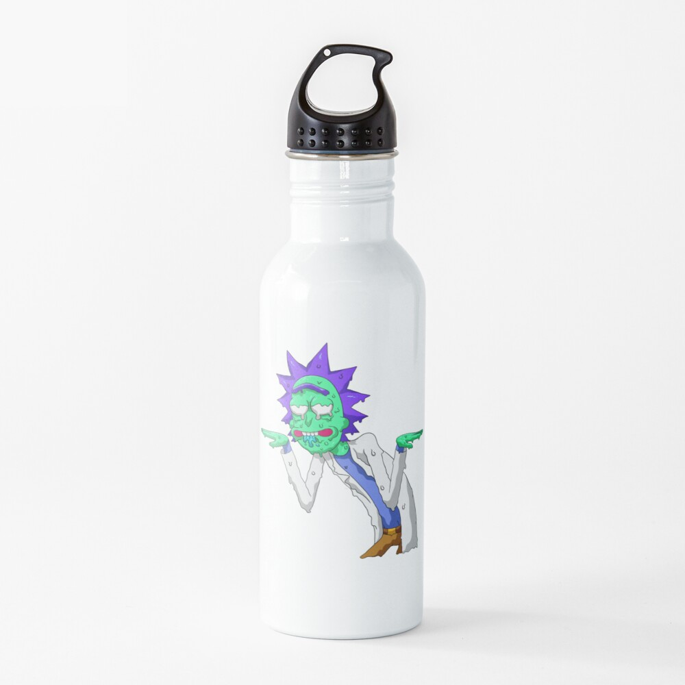 Copy of rick and morty get schwifty Water Bottle