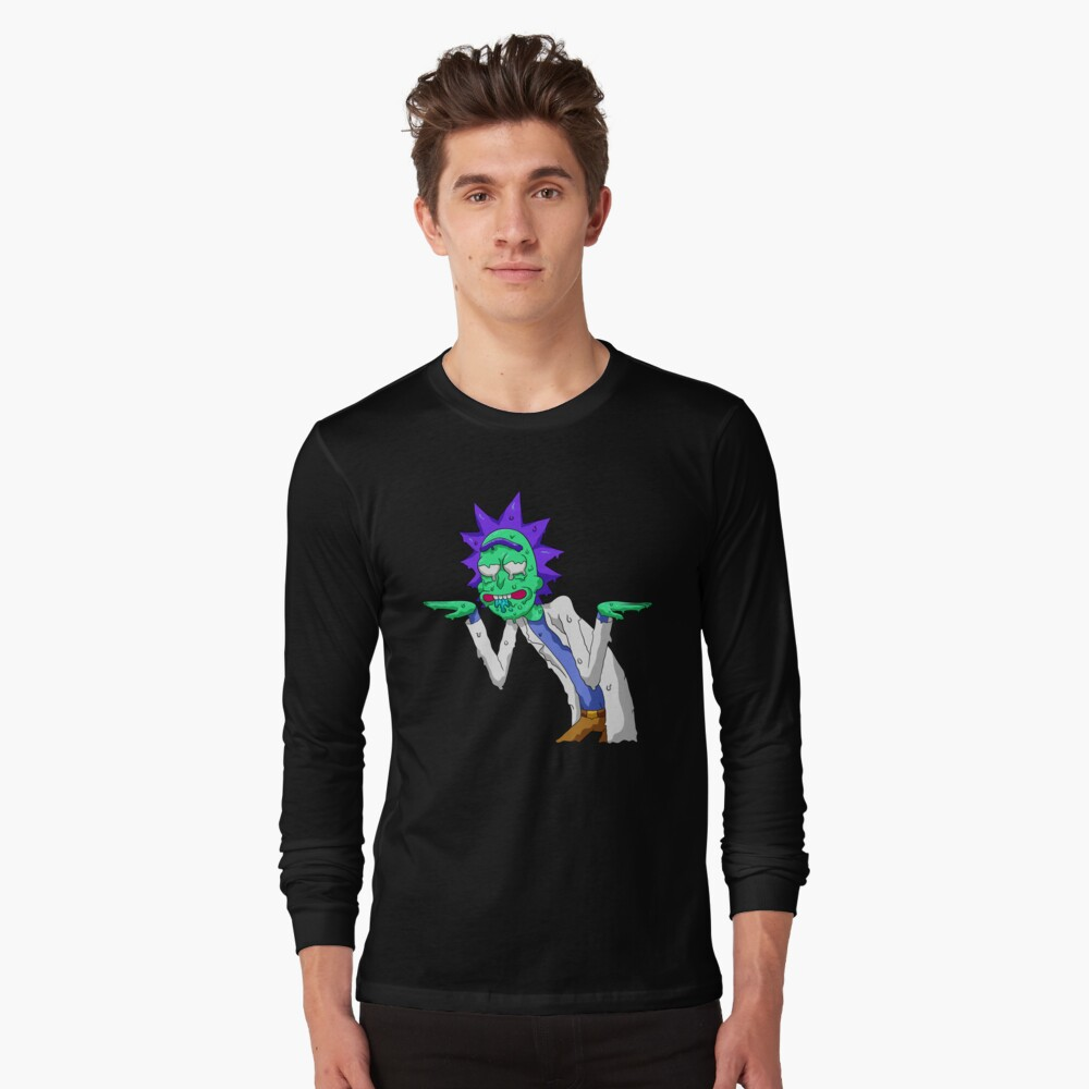 Copy of rick and morty get schwifty Long Sleeve T-Shirt