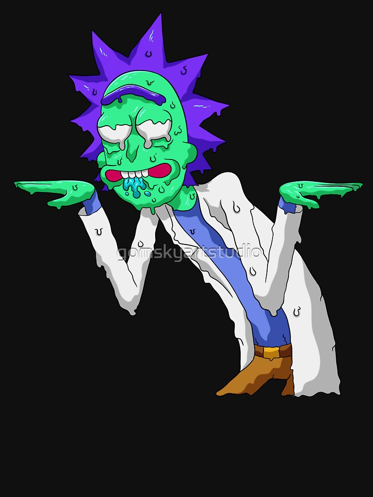 Copy of rick and morty get schwifty by gomskyartstudio