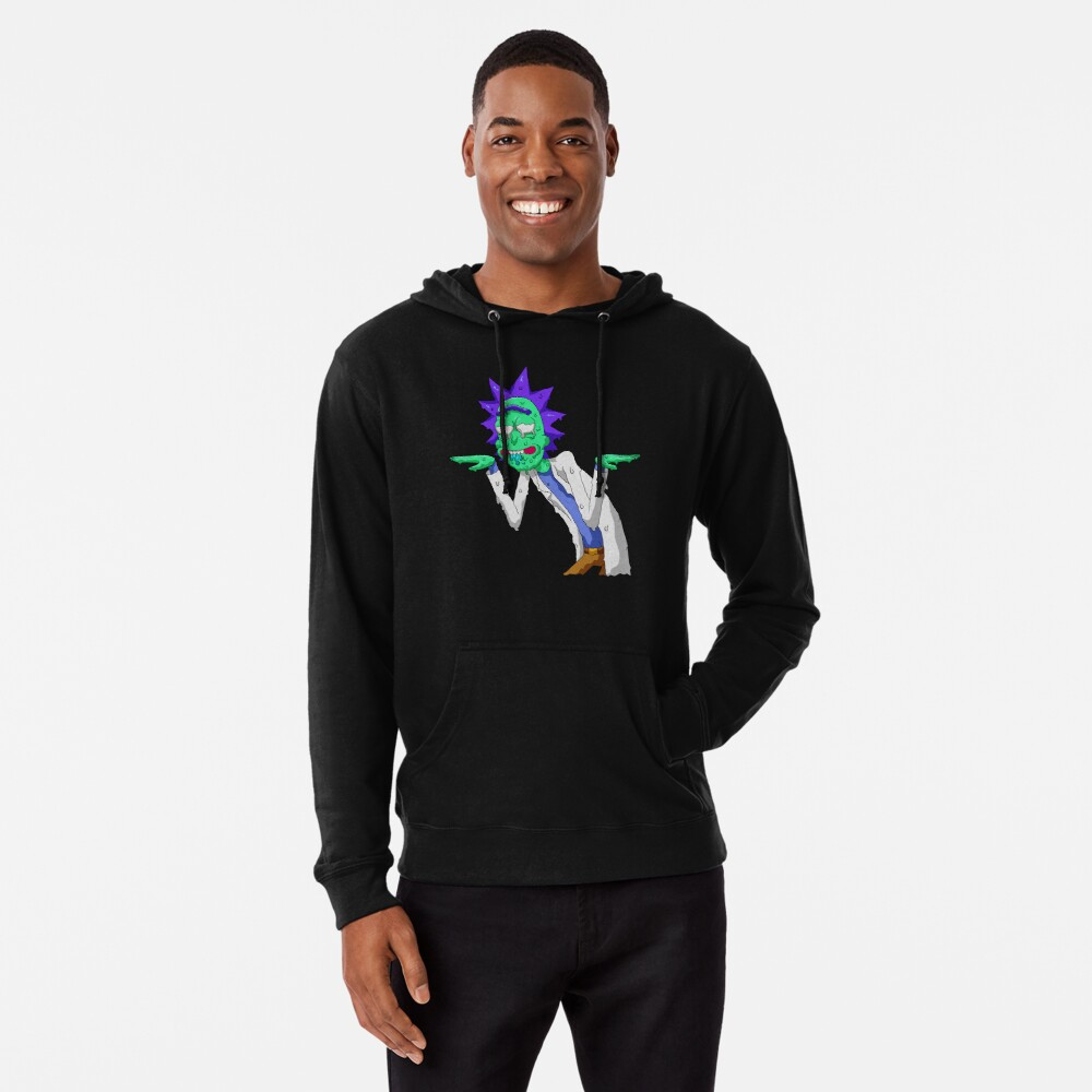Copy of rick and morty get schwifty Lightweight Hoodie