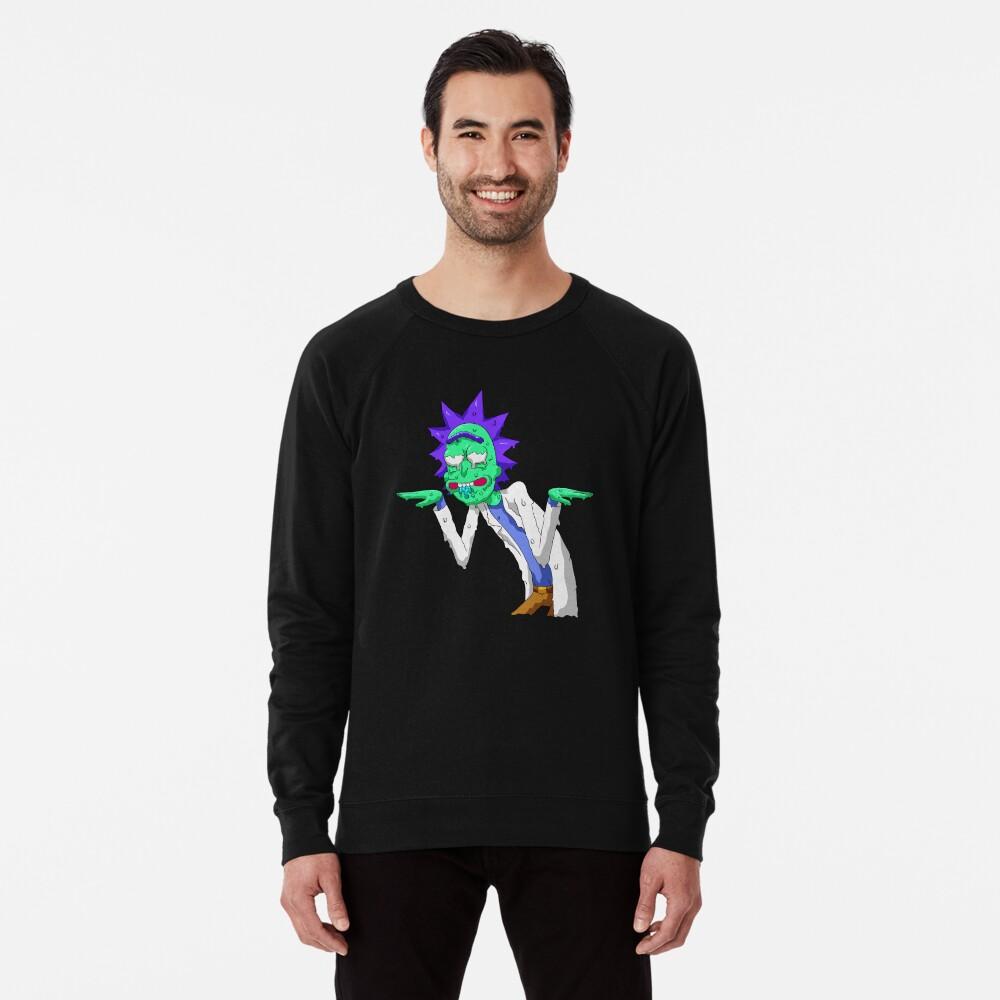 Copy of rick and morty get schwifty Lightweight Sweatshirt