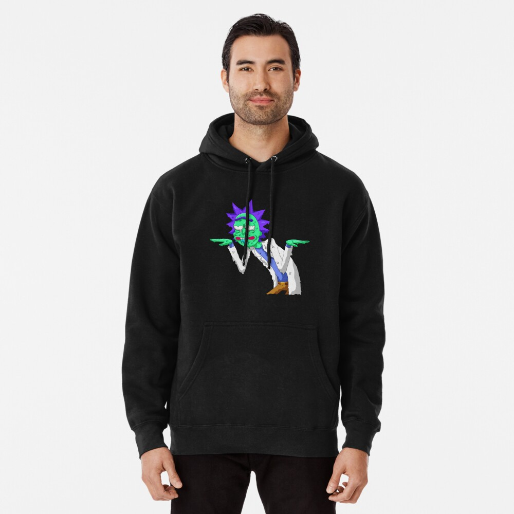 Copy of rick and morty get schwifty Pullover Hoodie