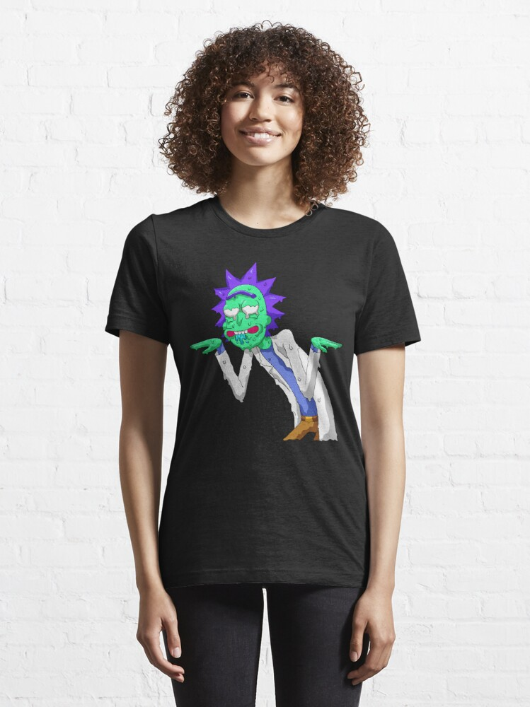Alternate view of Copy of rick and morty get schwifty Essential T-Shirt