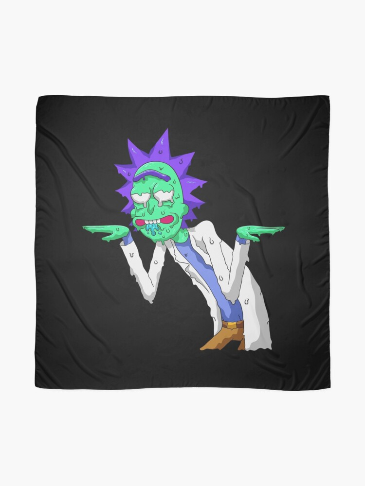 Alternate view of Copy of rick and morty get schwifty Scarf