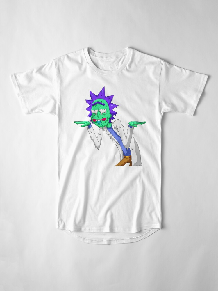 Alternate view of Copy of rick and morty get schwifty Long T-Shirt