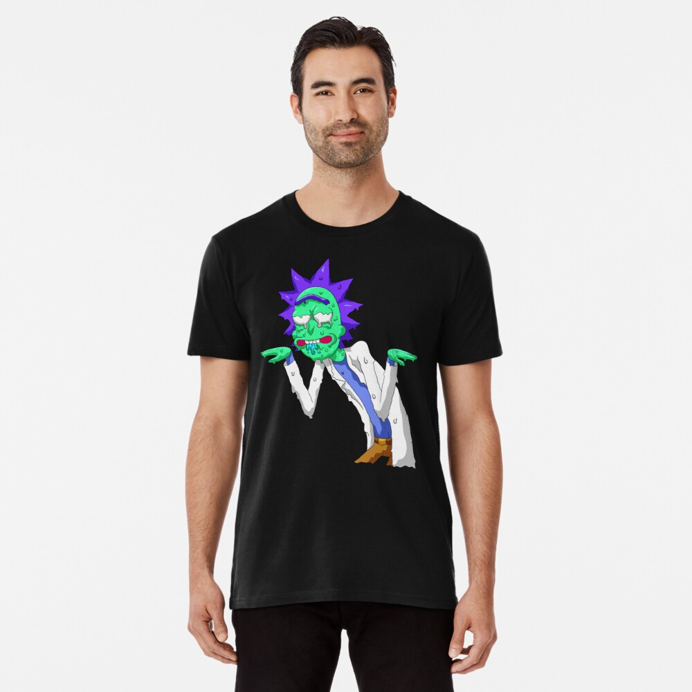 Copy of rick and morty get schwifty Premium T-Shirt