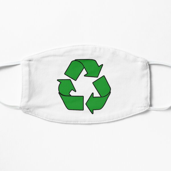 Recycle Sign Stickers, Gifts & Products Mask