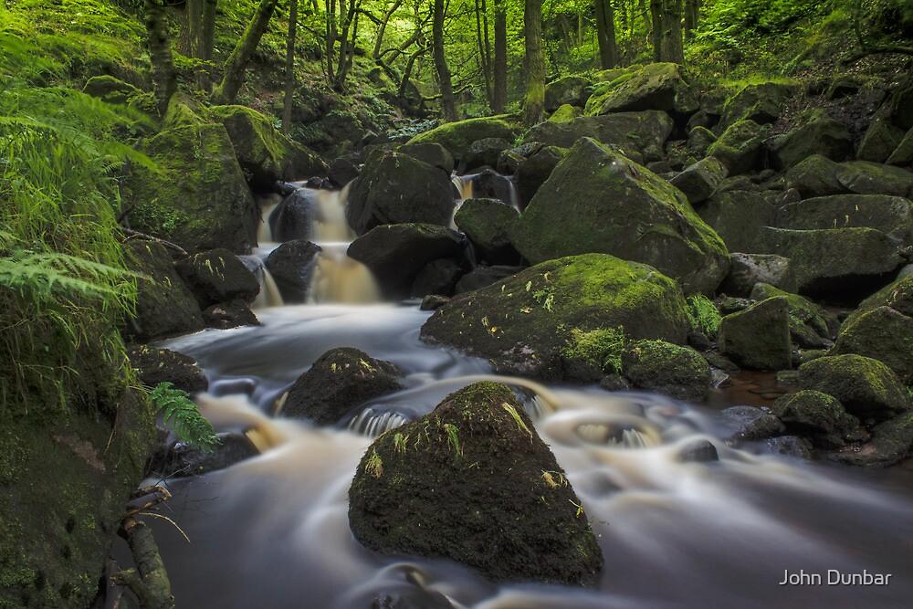 Padley Gorge by John Dunbar