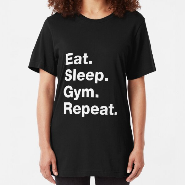 EAT SLEEP MMA gym train sport NEW xmas birthday gift idea boys girls top T SHIRT
